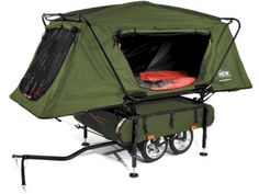 Pop-Up Camper, for a freaking bike!