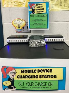 Put a mobile device charging station (or two) at the Main Library - definitely in the teen area | The Daring Librarian