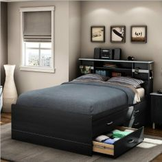 South Shore Cosmos Collection Full-Size Captain's Bed, Black Onyx and Charcoal by South Shore Furniture, http://www.amazon.com/dp/B004YZRKGY/ref=cm_sw_r_pi_dp_Rs9brb11BGSK2