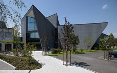 Jansen Campus / Davide Macullo Architects   ArchDaily