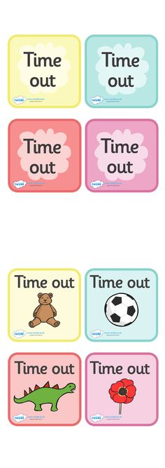 Twinkl Resources >> Time Out Cards >> Classroom printables for Pre-School, Kindergarten, Primary School and beyond! behavior management, time out, interactive Primary School, Elementary Schools, Primary Teaching, Pre School, Behavior Management System, Classroom Management, Behavior Interventions, Preschool Class, Time Out