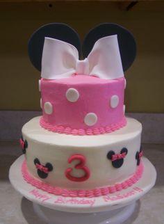 Galería de pasteles de Minnie Mouse.