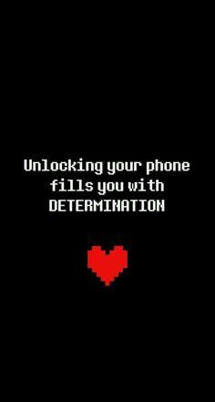 Desbloqueando seu telefone enche você de DETERMINAÇÃO