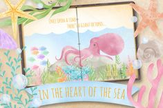 In the Heart of the Sea by SHAGGYISM on Creative Market