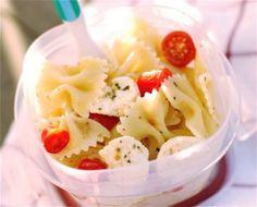 Bow-Tie Tomato and Mozzarella Pasta Salad