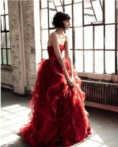"Vera Wang ""Katarina"" gown in Russian Vogue Bridal | Wedding Dress"