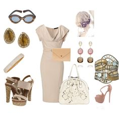 Nudes & Soft shades of color , created by akbecca on Polyvore