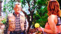 Phyllis runs into Ian Ward in the woods.