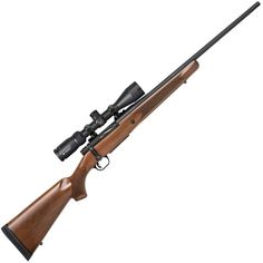 Mossberg Patriot Walnut With Vortex Crossfire II Scope Blued Bolt Action Rifle - 6.5 Creedmoor - Item# 1542497