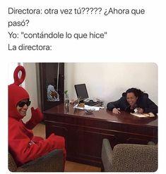 #wattpad #de-todo Hello ahre, esto sólo van a ser memes que encuentre de wattpad, el kpop, y lo que encuentre que me de risa y sea un meme. Funny Spanish Memes, Spanish Humor, Funny Memes, Hilarious, Funny Gifs, Funny Cartoons, Mundo Meme, Mexican Memes, Harry Potter