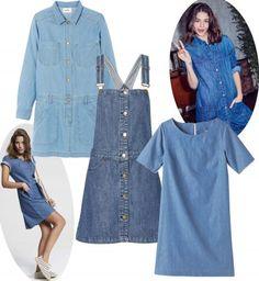 La robe denim : sélection mode