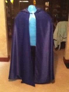 Basic cloak done. Just need a hair comb and to make the red scarf. 2014