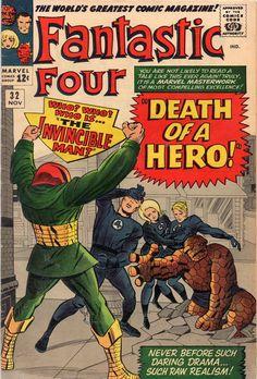 The Fantastic Four # 31.