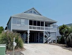 Sunset Beach Vacation Rental   House | Big Kids Castle | Sunset Properties