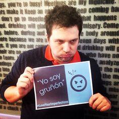 En lunes muchos de vosotros tenéis la misma imperfección que nuestro compañero: el gruñón #LoveYourImperfection #Meetic