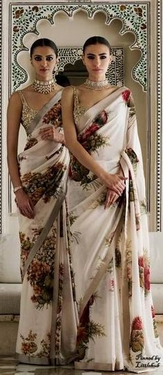 Looking for quality Modern Saree also items like Designer Saree and Elegant Sari Blouse if so then Click Visit link above to read Ethnic Fashion, Asian Fashion, Look Fashion, Fashion Men, Indian Look, Indian Ethnic Wear, Indian Style, Collection Eid, Indian Designer Outfits