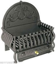 This Spanish style dog grate is made from solid cast iron. Simply place your logs or coals within the fire basket and light enabling you to create fire much quicker and more efficiently. Fireplace Grate, Faux Fireplace, Fireplace Ideas, Fireplaces, Fire Basket, Seasoning Cast Iron, Swiss Chalet, Fire Surround, Light My Fire
