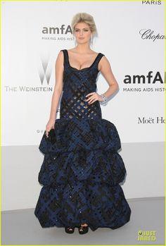 Kate Upton amfAR Cannes Gala 2012