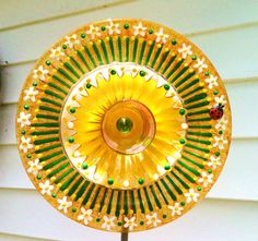 Glass Plate Flowers For Your Spring and Summer by pollysyardart, $30.00