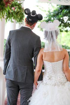 A Whimsical Disney Wedding: Danielle & Kyle at Walt Disney World, FL | Wedding Planning, Ideas & Etiquette | Bridal Guide Magazine