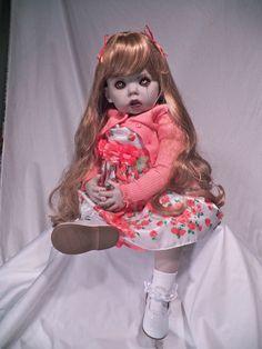 OOAK Krypt Kiddies Vampire Goth Horror Zombie Demon Toddler Reborn Doll Evil | eBay