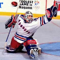 Mike Richter, one the best American goaltenders of all time. He was good.