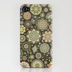 I could use a new iphone 4s case, something that is protective enough to cover the top/front edges of the phone, in a cute print like this one