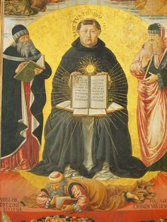 Thomas Aquinas triumphs over Averroes's doctrine of double truth, according to which religion and rationality can peacefully coexist without having to constantly challenge each other. Aquinas understands that such double-dipping undermines Revelation.