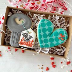 Fancy Cookies, Iced Cookies, Royal Icing Cookies, Custom Cookies, How To Make Cookies, Cupcake Cookies, Sugar Cookies, Valentines Puns, Valentine Theme