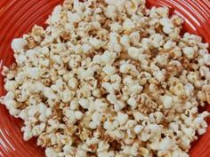 Sunny's Sweet 'n Spicy Popcorn : Who doesn't love to snack on popcorn? Sunny's stovetop-popped corn is seasoned with maple syrup and cinnamon, and gets a kick from a pinch of cayenne.