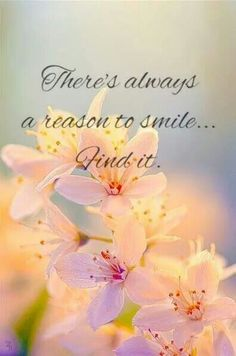 There's always a reason to smile...Find It. LO