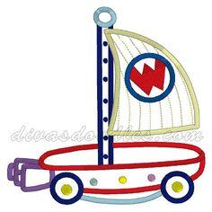 Wonder Pets Boat Ride Machine Applique! $4.00 Applique Embroidery Designs, Machine Embroidery Applique, Wonder Pets, Appliques, Divas, Doodles, Boat, Riveting, Dinghy