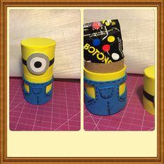 Minion box roll toilette paper