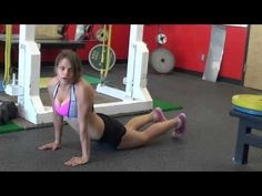 How to properly do plank JUMP exercises! -out/ins and scissors! (www.womensfitway.com)