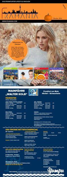 Framania Ausgabe Oktober 16 - Magazine with 61 pages: