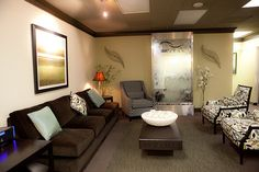 Dallas Medical Spa Reception by Jamie Kosich Designs, via Flickr