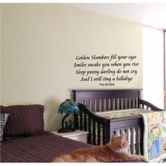Kids Wall Art Sticker Baby Room Nursery Boy Girl Bedroom Funny Beatles Saying 18 --- http://bizz.mx/j4q
