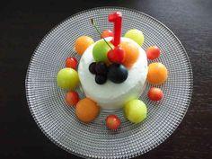 一歳の誕生日ケーキ(イチゴがなくても❤)の画像