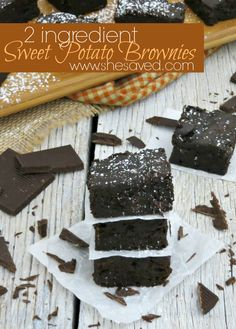 Looking to make AWESOME brownies without the fuss of making them from scratch? Try my 2 ingredient Sweet Potato Brownies for a winning and easy dessert every time!