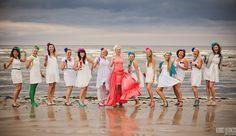 Beach Bachelorette party / девичник / junggesellinnenabschied / Lánybúcsú
