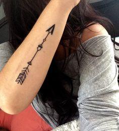 Arrow tattoo!!