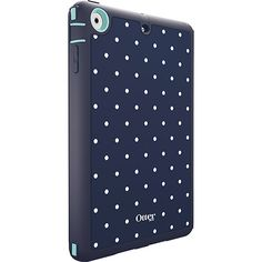 iPad mini Retina & iPad mini case | Defender Series from OtterBox (Classic Dot/Aqua Blue)
