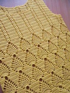 Gradient Baby Vest Making, Crochet Bolero Pattern, Crochet Jacket, Crochet Blouse, Cute Crochet, Crochet Baby, Knit Crochet, Knitting For Kids, Baby Knitting, Knitting Patterns
