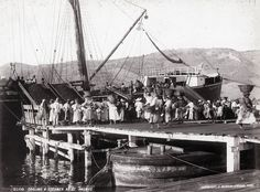 J. Murray Jordan - Coaling a Steamer at St Thomas, 1898 | par The Caribbean Photo Archive
