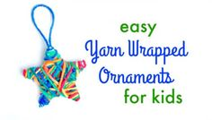 Looking for easy Christmas crafts for kids? These simple yarn wrapped ornaments are the perfect make and take for this year's classroom holiday party! This post contains affiliate links. Read more. We're getting in the Christmas spirit around here! The tree went up this weekend, shopping is underway, Christmas cards are ordered – and I'm loving every minute! The best part of this season for me is that it gives me an extra excuse to craft! Art and craft activities [Continue Reading]