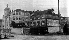 fotos antiguas vitoria   Calle Fueros - Fábrica Heraclio Fournier