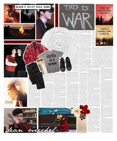"""""""welcome to your life"""" by childofolympus ❤ liked on Polyvore featuring art, brooklynsfandom, teamjason, demigodbattle and Olympiangroupbattles"""