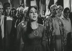 Golden Bollywood: Meena Kumari & Dilip Kumar in Yahudi (1958) gif