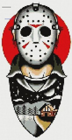 Cross stitch charts brings the festival decoration look in the home. From fun and funky to classic and elegant, we've got a selection of all the cross stitch patterns you'll ever need. Beaded Cross Stitch, Cross Stitch Charts, Cross Stitch Designs, Cross Stitch Embroidery, Cross Stitch Patterns, Obelix, Texas Chainsaw Massacre, Perler Bead Art, Perler Beads