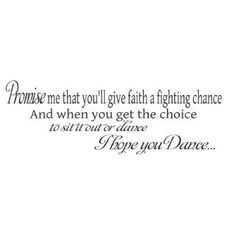 i hope you dance tattoos - Google Search